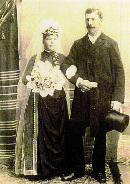 Margarette and Benedict Reiner Wedding Picture