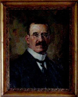 Portrait of Josef S. Thannhauser